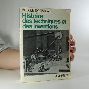 náhled knihy - Histoire des techniques et des inventions