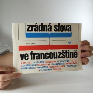 náhled knihy - Zrádná slova ve francouzštině