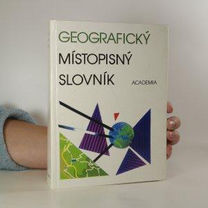 náhled knihy - Geografický místopisný slovník světa