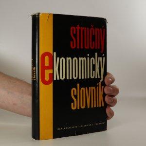náhled knihy - Stručný ekonomický slovník