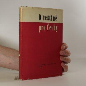 náhled knihy - O češtině pro Čechy. Jazyková příručka