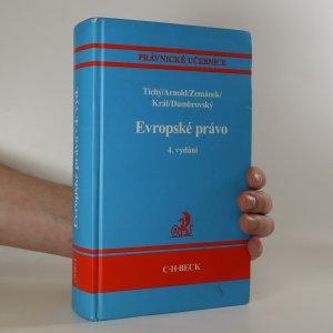 náhled knihy - Evropské právo