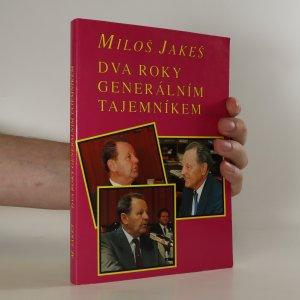 náhled knihy - Dva roky generálním tajemníkem