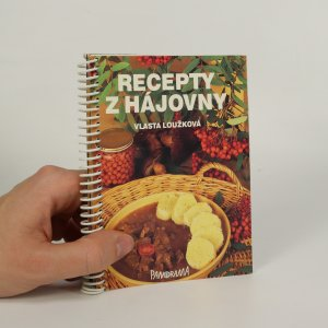 náhled knihy - Recepty z hájovny