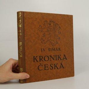 náhled knihy -  Kronika česká I. doba stará (Od časů nejstarších do reformace)