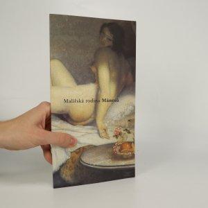 náhled knihy - Malířská rodina Mánesů
