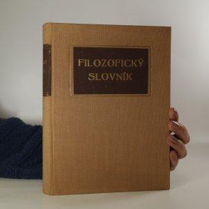 náhled knihy - Filosofický slovník