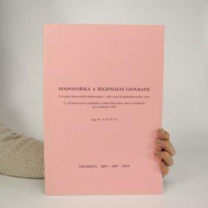 náhled knihy - Hospodářská a regionální geografie