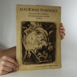 náhled knihy - Malíř Max Švabinský. Dvacet pět obrazů s poznámkami o době a díle