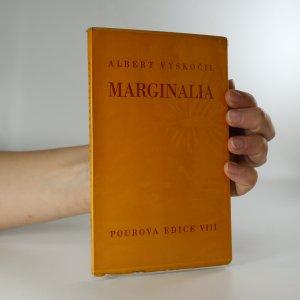 náhled knihy - Marginalia (podpis a věnování autora)