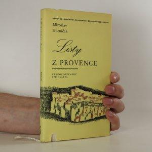 náhled knihy - Listy z Provence