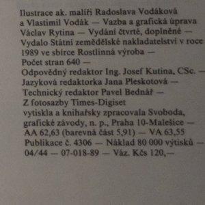antikvární kniha 1000 dobrých rad zahrádkářům, 1989