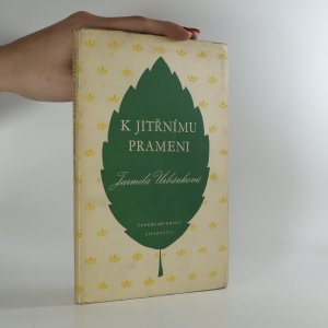 náhled knihy - K jitřnímu prameni (věnování autorky)