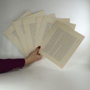 antikvární kniha Stisk ruky (komplet), 1980