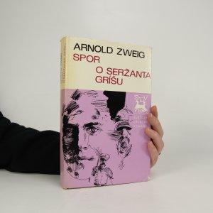 náhled knihy - Spor o seržanta Gríšu