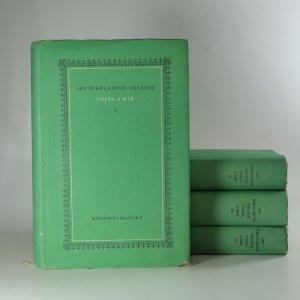 náhled knihy - Vojna a mír I. - IV. díl (4 svazky)