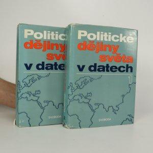 náhled knihy - Politické dějiny světa v datech I. a II. díl (2 svazky)