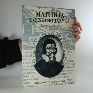 náhled knihy - Maturita z českého jazyka