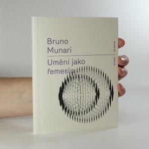 náhled knihy - Umění jako řemeslo