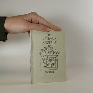 náhled knihy - Jak cestovala ježibaba do města Paříže