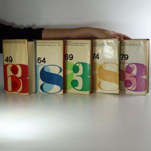 náhled knihy - Bibliografický soupis knih. Státní nakladatelství dětské knihy (1949-1963, 1964-1968, 1969-1973, 1974-1978, 1979-1983, Pět svazků, komplet)