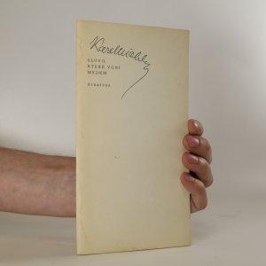 náhled knihy - Slovo, které voní medem