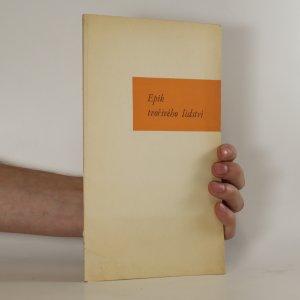 náhled knihy - Epik tvořivého lidství