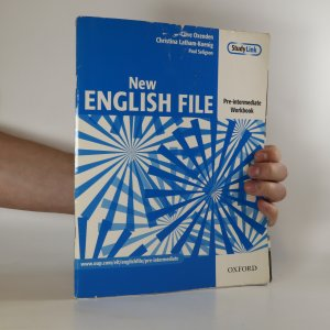 náhled knihy - New English File. Pre-intermediate Workbook