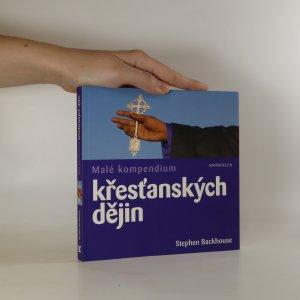 náhled knihy - Malé kompendium křesťanských dějin