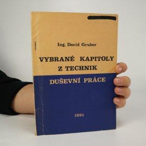 náhled knihy - Vybrané kapitoly z technik duševní práce