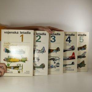 náhled knihy - Vojenská letadla 1.-5. díl (komplet)