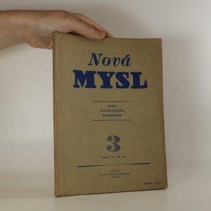 náhled knihy - Nová mysl. Revue socialistického humanismu (3. ročník, září 1949)