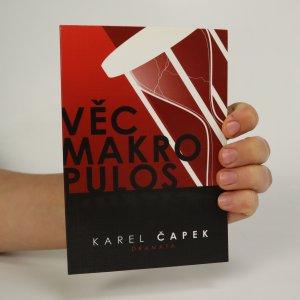 náhled knihy - Věc Makropulos