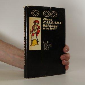 náhled knihy - Občánku, a co teď?