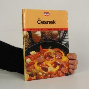náhled knihy - Česnek