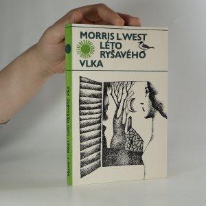 náhled knihy - Léto Ryšavého vlka