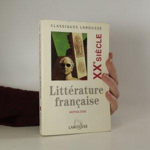 náhled knihy - Littérature Francaise. XXe siècle