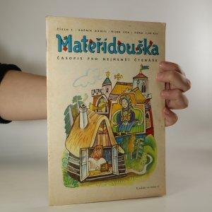 náhled knihy - Mateřídouška, ročník XXXIII, číslo 2
