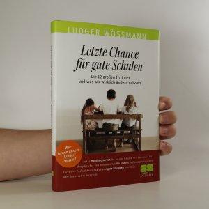 náhled knihy - Letzte Chance für gute Schulen