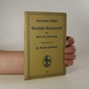 náhled knihy - Deutsche Grammatik