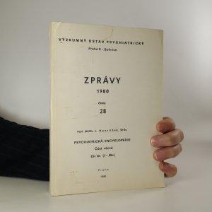 náhled knihy - Zprávy 1980, číslo 28. Psychiatrická encyklopedie, díl III.