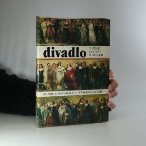 náhled knihy - Divadlo v české kultuře 19. století