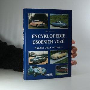 náhled knihy - Encyklopedie osobních vozů. Osobní vozy 1945-1975