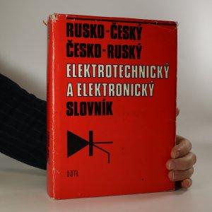 náhled knihy - Rusko-český a česko-ruský elektrotechnický a elektronický slovník