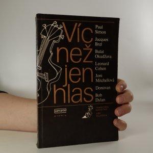 náhled knihy - Víc než jen hlas