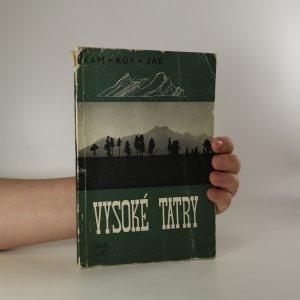 náhled knihy - Vysoké Tatry v létě i v zimě