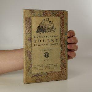 náhled knihy - Kamenického toulky pražským okolím