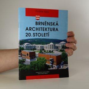 náhled knihy - Brněnská architektura 20. století