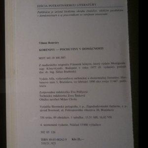 antikvární kniha Koreniny. Pochutiny v domácnosti, 1990