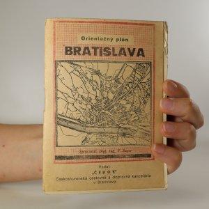 náhled knihy - Bratislava. Orientačný plán
